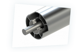Aluminum rollers and profiles